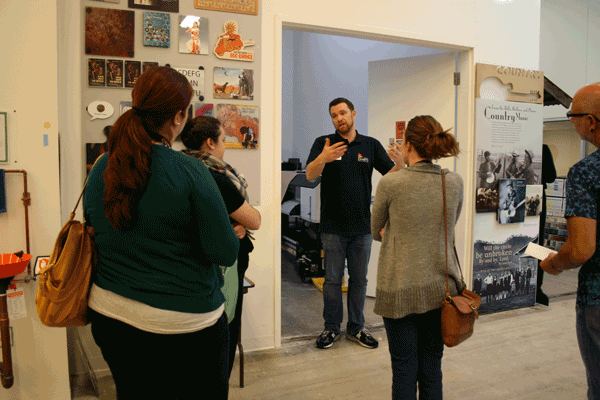 Graphics specialist Evan Keeling talks about graphic production.