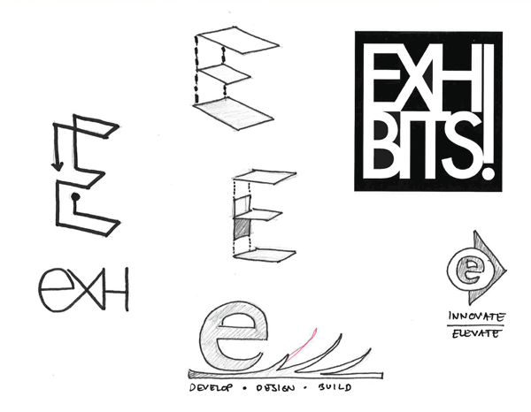 Some logo designs had shapes that were more organic and flowing, while other submissions were more architectural.