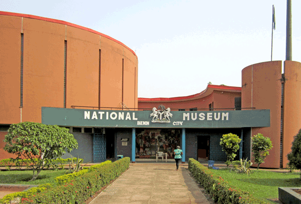 Entrance to the National Museum Benin City. Photo by Amy Staples