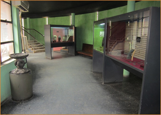 Interior shot of the museum. Photo by Amy Staples