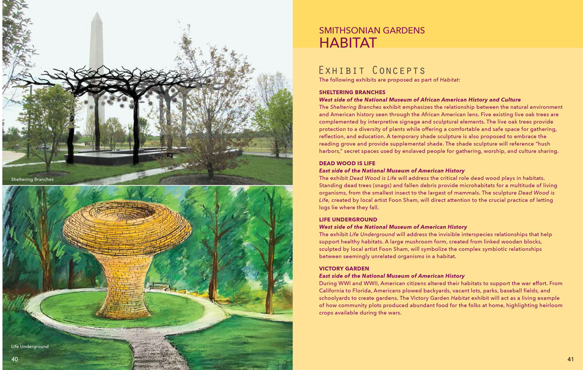 Habitat exhibit concepts