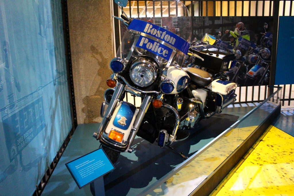 Boston Police Department motorcycle