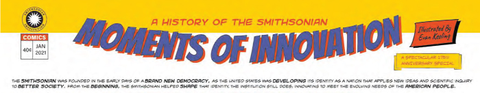 Title line of the comic