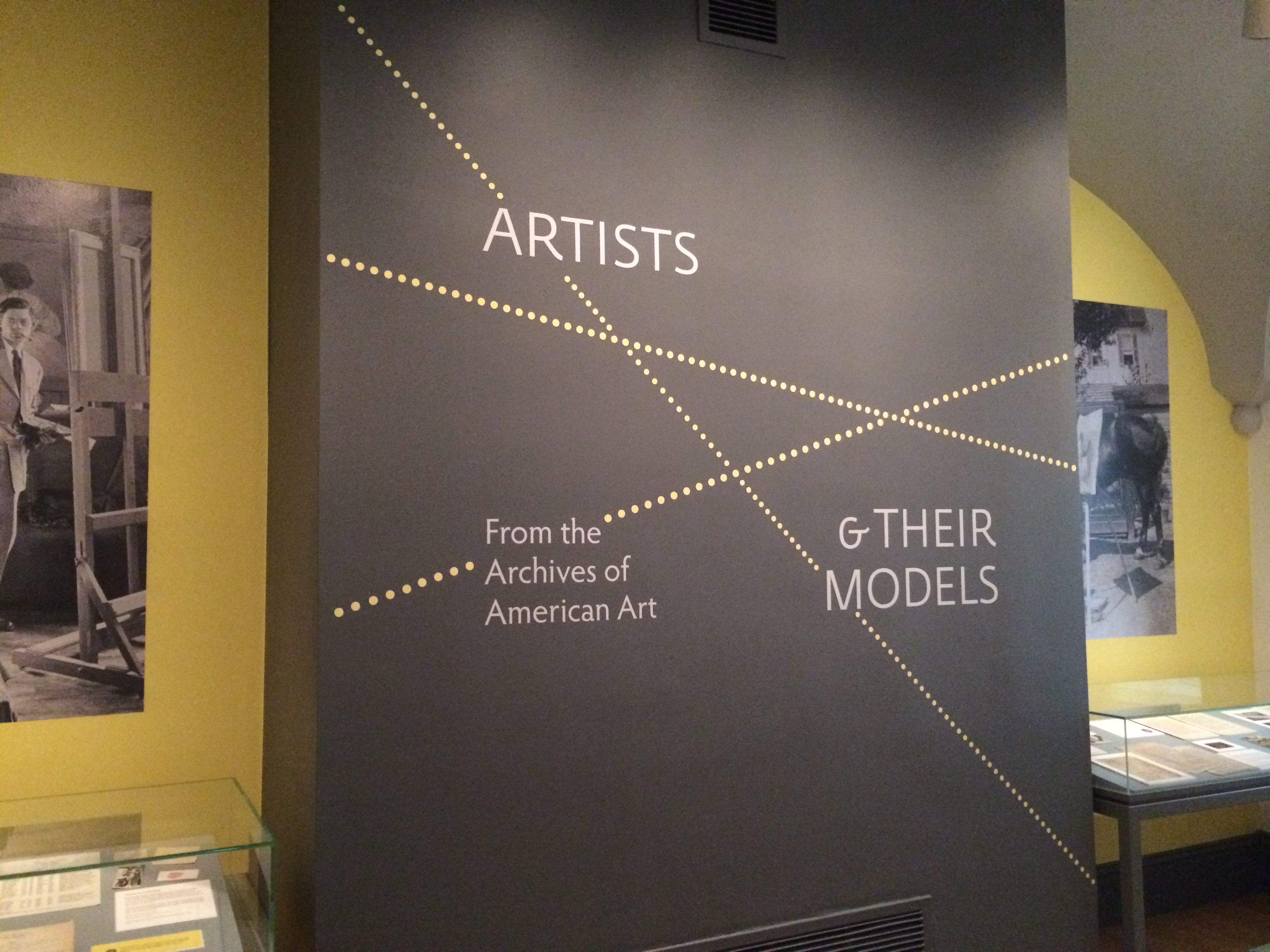 Artists & Their Models exhibit at AAM